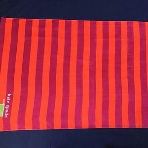 ♠️ Kate Spade New York Luxury Beach Towel Stripes